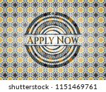 apply now arabic emblem... | Shutterstock .eps vector #1151469761