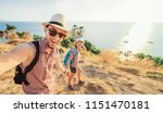 we love traveling and trekking  ... | Shutterstock . vector #1151470181