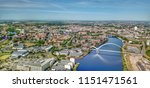 stockton on tees and the river...   Shutterstock . vector #1151471561