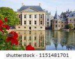 the 'hofvijver'  court pond ... | Shutterstock . vector #1151481701