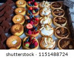 assortment of delicious and... | Shutterstock . vector #1151488724
