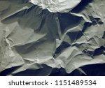 crumpled paper texture... | Shutterstock . vector #1151489534
