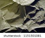 crumpled paper texture... | Shutterstock . vector #1151501081
