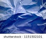 crumpled paper texture... | Shutterstock . vector #1151502101