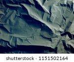 crumpled paper texture... | Shutterstock . vector #1151502164
