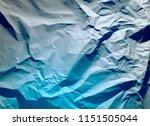 crumpled paper texture... | Shutterstock . vector #1151505044