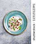 top view of chiles en nogada ... | Shutterstock . vector #1151512391