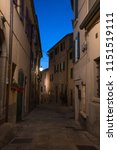 narrow street in the old town... | Shutterstock . vector #1151519111