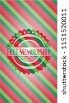 free membership christmas... | Shutterstock .eps vector #1151520011