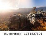 meditation in soft light in the ... | Shutterstock . vector #1151537801