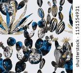 watercolor seamless pattern...   Shutterstock . vector #1151554931