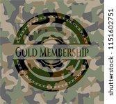 gold membership written on a... | Shutterstock .eps vector #1151602751