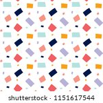 square pattern background | Shutterstock .eps vector #1151617544