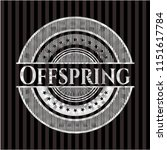 offspring silvery badge | Shutterstock .eps vector #1151617784