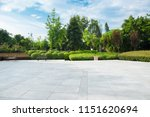 broad squares and quiet city... | Shutterstock . vector #1151620694