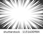 comic book radial lines...   Shutterstock .eps vector #1151630984