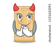 Devil Wooden Cutting Board...