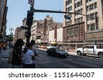 los angeles  usa   august 03 ... | Shutterstock . vector #1151644007