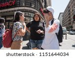 los angeles  usa   august 03 ... | Shutterstock . vector #1151644034