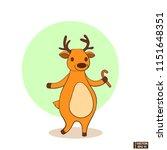 vector image. christmas icon... | Shutterstock .eps vector #1151648351