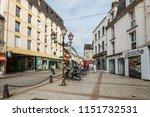 cherbourg octeville  france  ... | Shutterstock . vector #1151732531