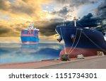 logistics import export...   Shutterstock . vector #1151734301