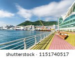 amazing colorful view of busan...   Shutterstock . vector #1151740517