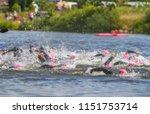 ironman triathlon luxembourg | Shutterstock . vector #1151753714