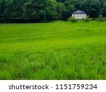 typical old house on alpine... | Shutterstock . vector #1151759234