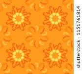 lavish branches elegant... | Shutterstock .eps vector #1151761814