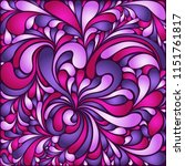 silk texture fluid shapes ... | Shutterstock .eps vector #1151761817