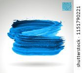 blue brush stroke and texture.... | Shutterstock .eps vector #1151790221
