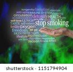 stop smoking word cloud   male ...   Shutterstock . vector #1151794904