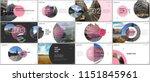 minimal presentations design ... | Shutterstock .eps vector #1151845961