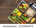 clean healthy oil free low fat... | Shutterstock . vector #1151846474