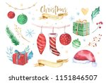merry christmas and happy new... | Shutterstock . vector #1151846507