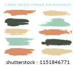 craft label brush stroke... | Shutterstock .eps vector #1151846771