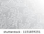 abstract technology background  ... | Shutterstock .eps vector #1151859251
