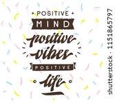 inspirational quote  motivation.... | Shutterstock .eps vector #1151865797