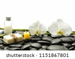 still life with two orchid and... | Shutterstock . vector #1151867801