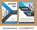 business abstract vector... | Shutterstock .eps vector #1151883371