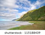 Sandy Beach In The North Of...