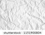 texture of white crumpled white ... | Shutterstock . vector #1151900804