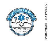 badge icon illustration fro sea ... | Shutterstock .eps vector #1151901377