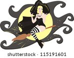 witch | Shutterstock . vector #115191601