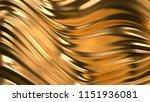 luxury golden background. 3d... | Shutterstock . vector #1151936081