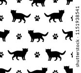 seamless patterns with... | Shutterstock .eps vector #1151938541