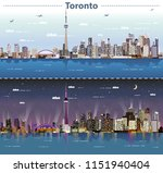 vector abstract illustration of ... | Shutterstock .eps vector #1151940404