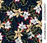 Flowers Allover Pattern