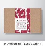 premium quality lamb fillet... | Shutterstock .eps vector #1151962544